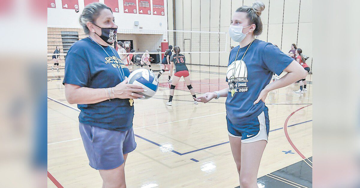 Junior volleyball player reflects on accomplishments